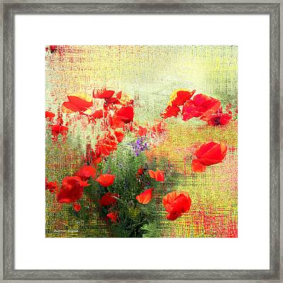 Framed Print featuring the photograph Formas Y Flores by Alfonso Garcia