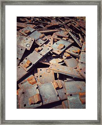 Framed Print featuring the photograph Former Joints by Olivier Calas