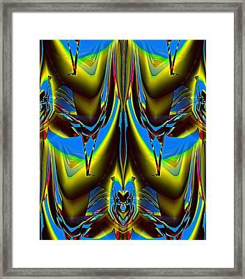 Forms  20 Framed Print by Alfred Kazaniwskyj