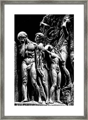 Framed Print featuring the photograph Forms In Marble by Paul W Faust - Impressions of Light