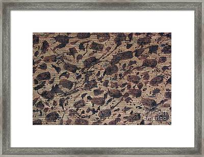 Forms Of Coffee Framed Print by TB Schenck