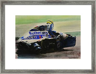 Formula Alone Framed Print
