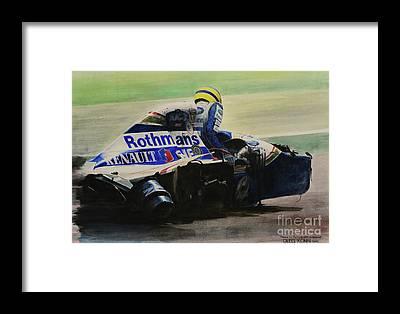 Grand Prix Framed Prints