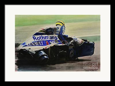 Motorsports Framed Prints