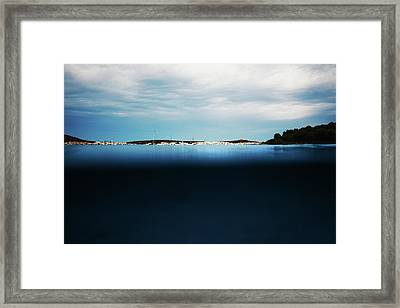 Fornells, Balearic Islands Framed Print