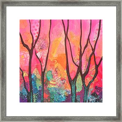 Forrest Energy II Framed Print by Shadia Derbyshire