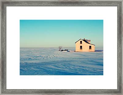 Forsaken Farmhouse Framed Print by Todd Klassy