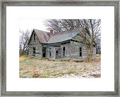 Forsaken Home Framed Print by Christopher McKenzie