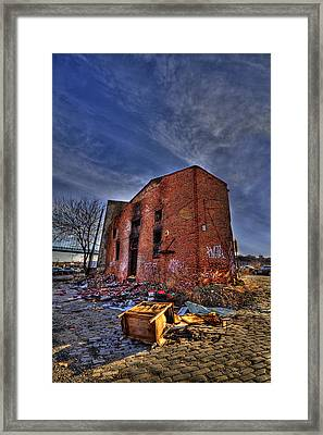 Forsaken Luxury Framed Print by Evelina Kremsdorf