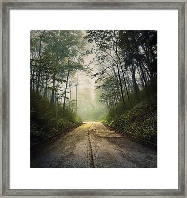 Forsaken Road Framed Print