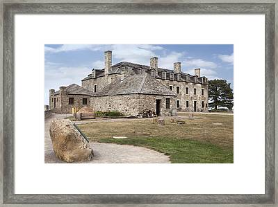 Fort 5 Framed Print by Peter Chilelli