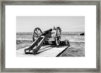Fort 8 Framed Print by Peter Chilelli