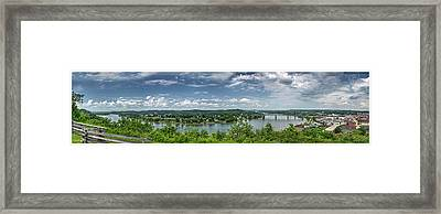 Fort Boreman Lookout Framed Print