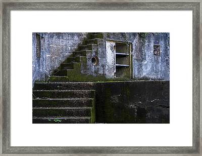 Fort Canby Framed Print