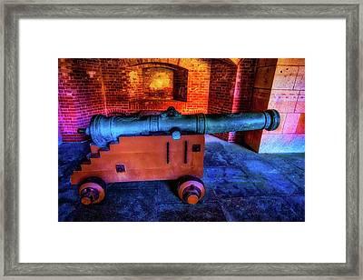 Fort Cannon Framed Print