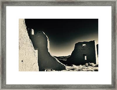 Fort Churchill State Historic Park Framed Print