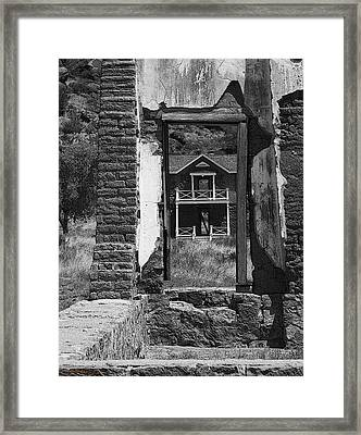 Framed Print featuring the photograph Fort Davis by Kerry Beverly