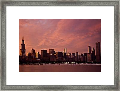 Fort Dearborn Framed Print
