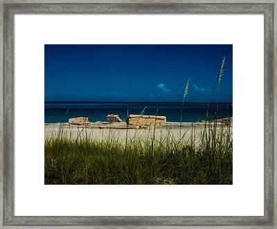 Fort Desoto Beach Framed Print