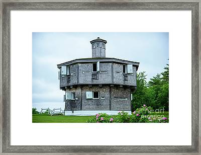 Fort Edgecomb State Historic Site Framed Print