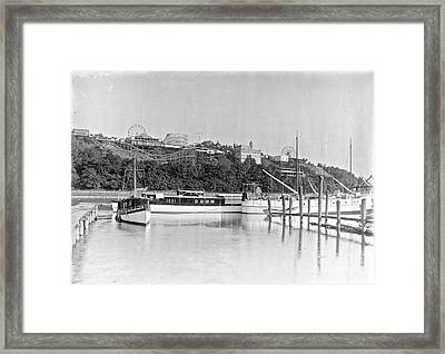 Framed Print featuring the photograph Fort George Amusement Park by Cole Thompson