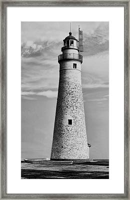 Fort Gratiot Lighthouse Framed Print