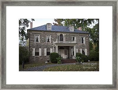 Fort Hunter Mansion Framed Print