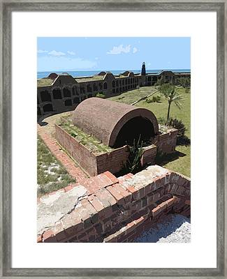 Fort Jefferson I Framed Print by Andy Jeter