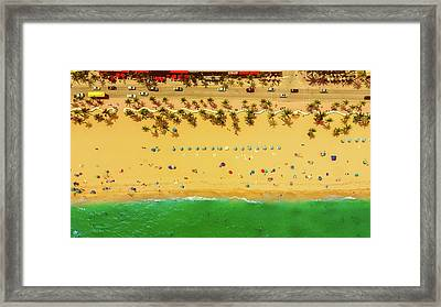 Fort Lauderdale Florida Framed Print by Lance Asper