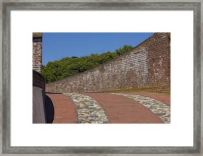 Fort Macon Framed Print by Betsy Knapp