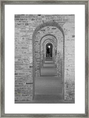 Fort Macon Going Home Framed Print