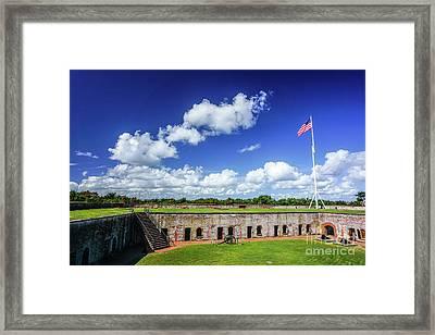 Fort Macon State Park Framed Print