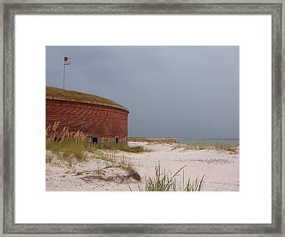 Fort Massachusetts  Framed Print
