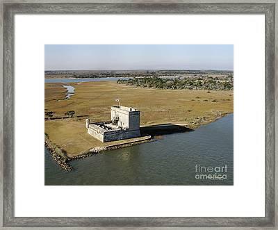 Fort Matanzas    Framed Print by Addison Fitzgerald