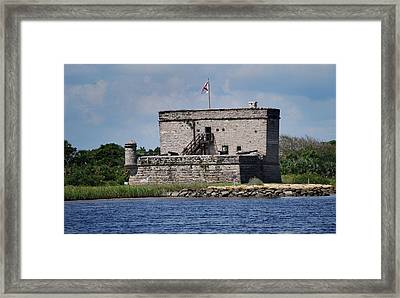 Fort Matanzas Framed Print by Skip Willits