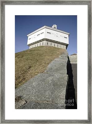 Fort Mcclary - Kittery Maine Usa Framed Print by Erin Paul Donovan