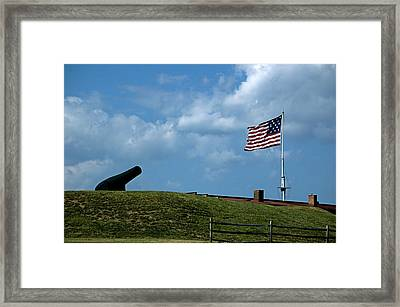 Fort Mchenry Baltimore Maryland Framed Print by Wayne Higgs