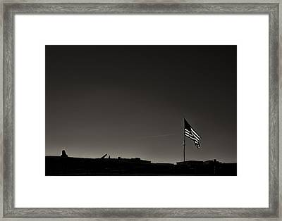 Fort Mchenry Framed Print by Geoffrey Baker
