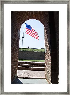 Fort Mchenry Star Spangled Banner Framed Print