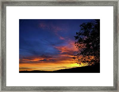 Fort Mohave Arizona Sunset Framed Print
