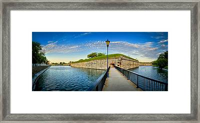 Fort Monroe Framed Print