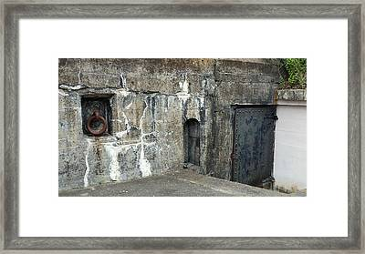 Fort Moultrie Framed Print by Kathy Barney