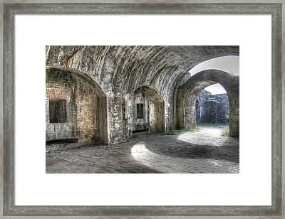 Fort Pickens Pensacola Framed Print