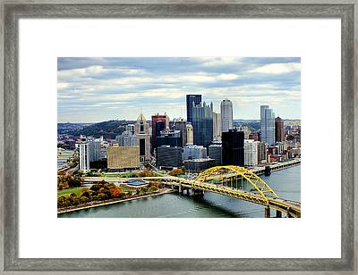 Fort Pitt Bridge Framed Print
