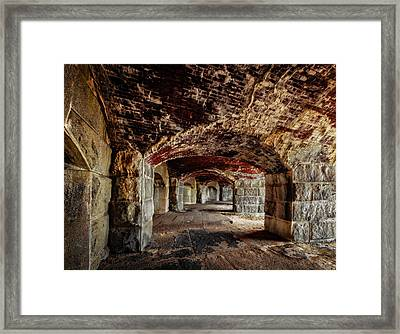 Fort Popham Framed Print