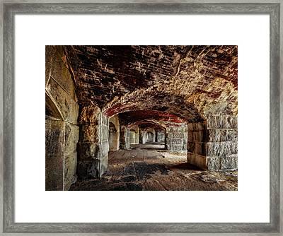 Fort Popham Framed Print