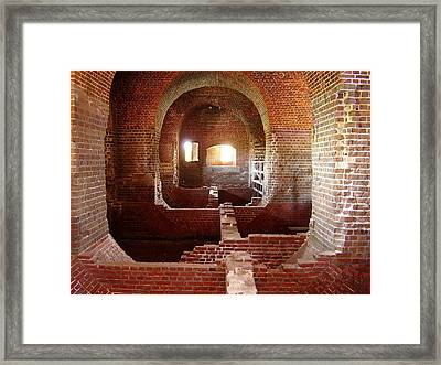 Fort Pulaski I Framed Print by Flavia Westerwelle