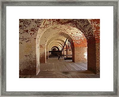 Fort Pulaski II Framed Print by Flavia Westerwelle