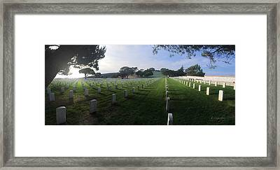 Fort Rosecrans National Cemetery Framed Print