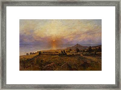 Fort Ross Framed Print by Henry Raschen